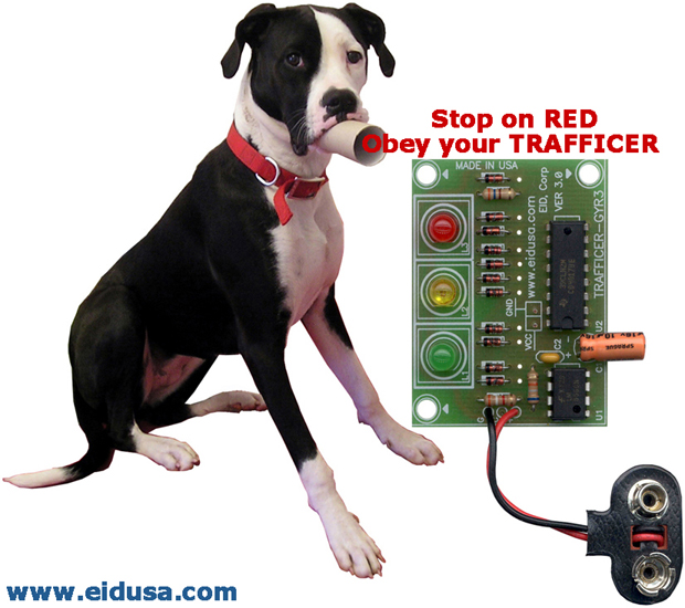 Electronic kits trafficer gyr3 led traffic light do it yourself diy and enjoy your kit get your own traffic light build a trafficer gyr3 kit solutioingenieria Choice Image