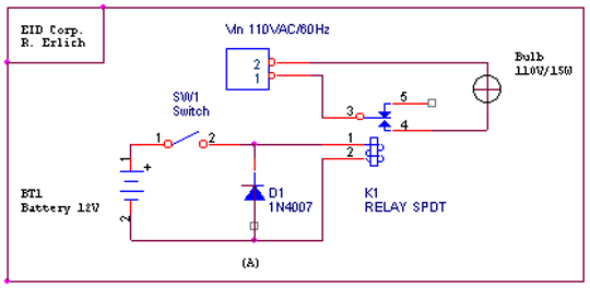 Relays - Electromagnetic relay switch