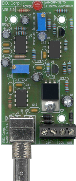 Interface Board Ph Orp Or Ise To 4 20ma Tranducer
