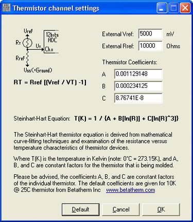 Electronic Kits 1 Thermistor via EUSB
