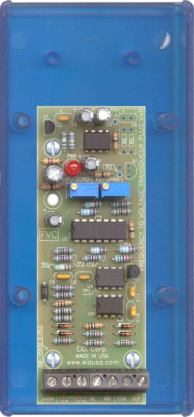 Interface board Frequency to voltgae (0-10V) tranducer